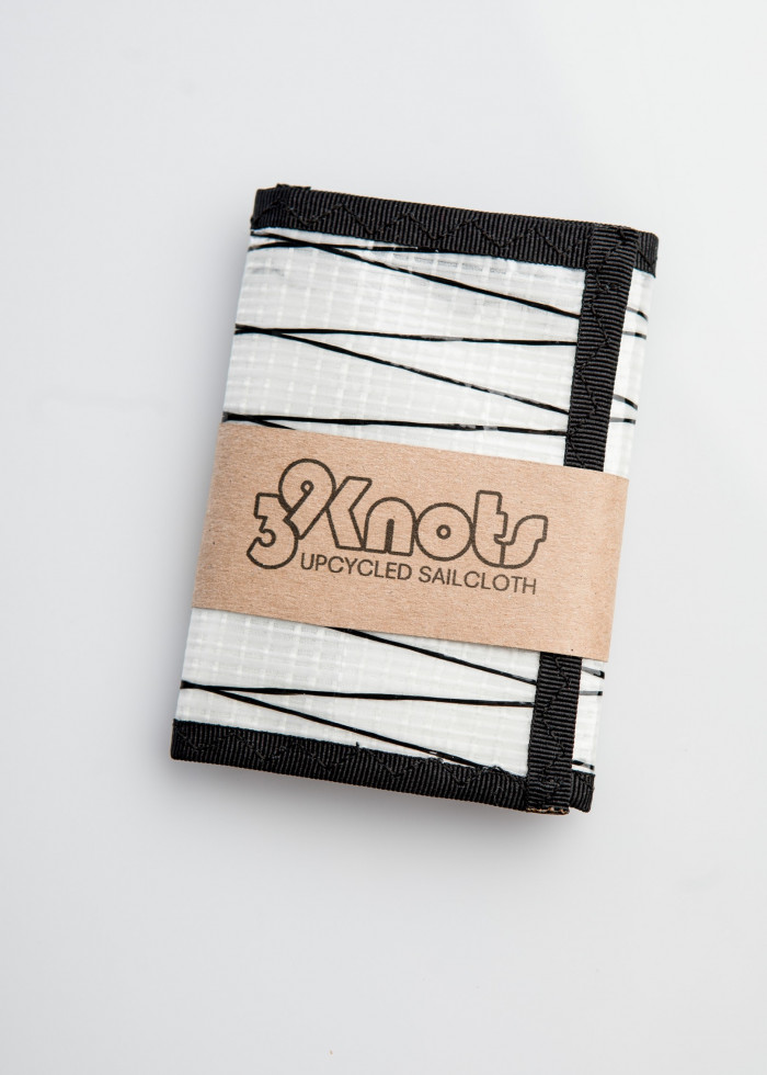 TRIPTICO BLACK WHITE WALLET