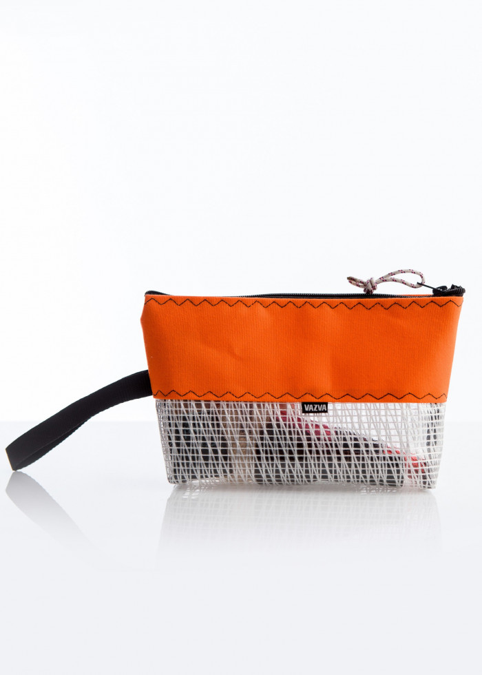 SAILOR ORANGE SEWING BAG