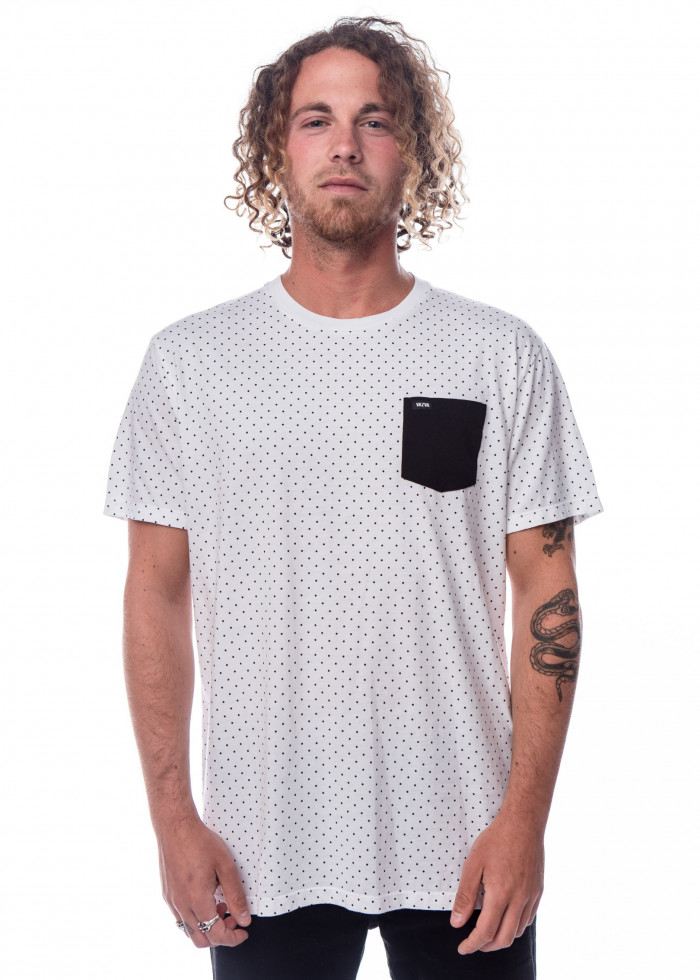 DOTS WHT T-SHIRT