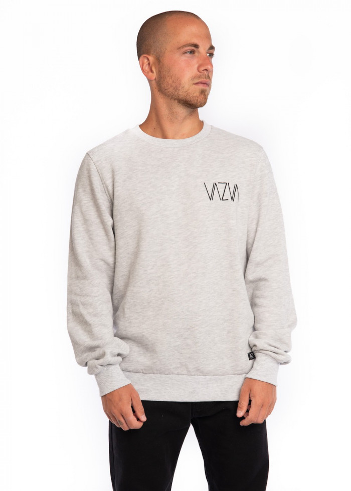 BASIC LIGHT GREY SWEATSHIRT