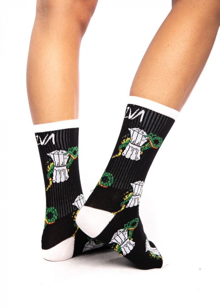 BLACK COFFEE SOCKS