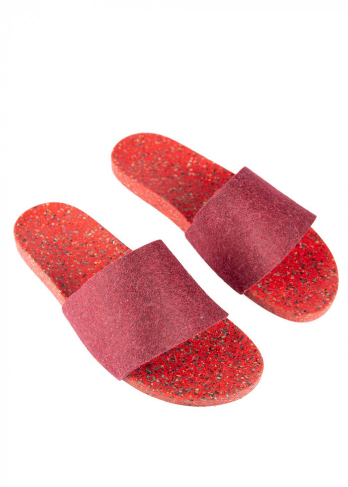 SHOES FUNPLASTIC RED