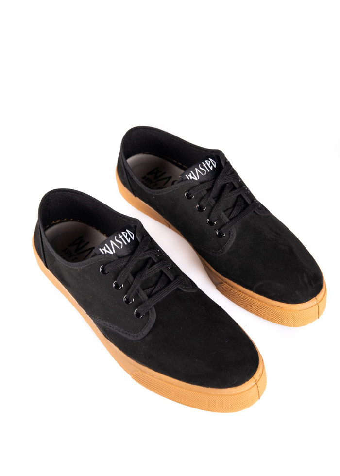 SHOE STUBBY BLACK