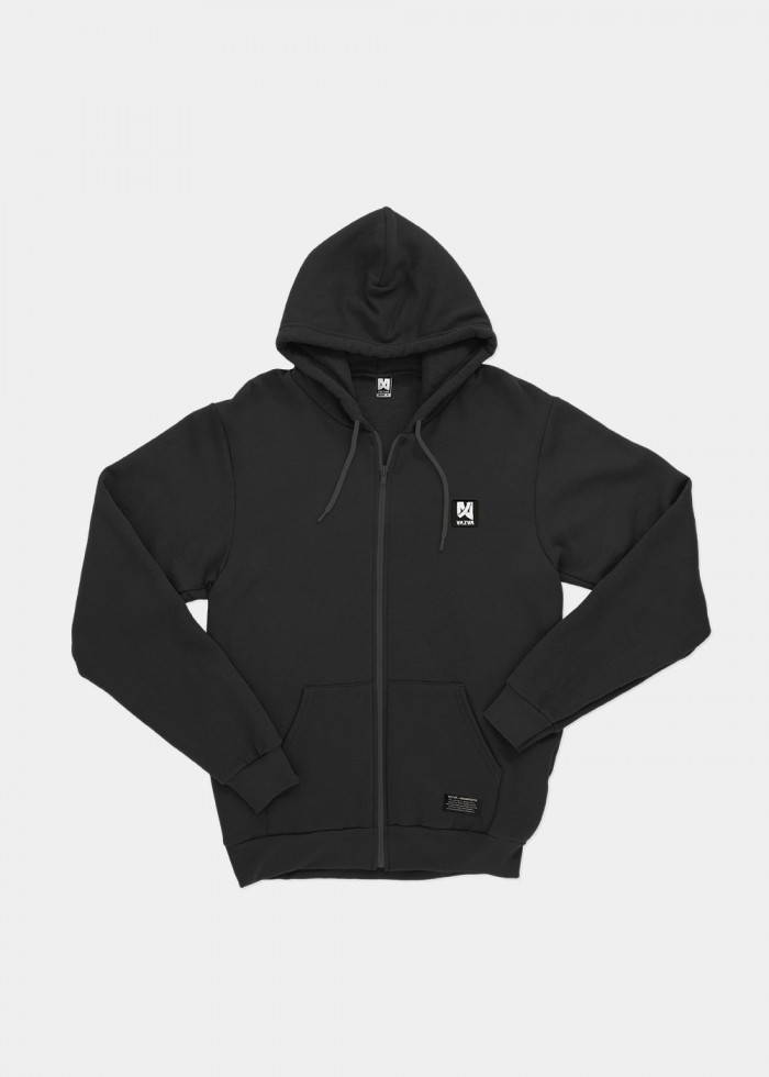 FL ZIP ICON BLACK
